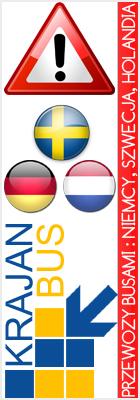 Busy do Niemiec, Szwecji, Holandii